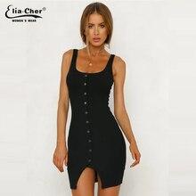 Hot Sale Black Green Women Long Sleeve Knitted Button Dress Autumn Winter Dress Ladies O Neck Casual Party Dress 9182 цена