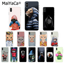 MaiYaCa fajne boks kot Protector Case dla Apple iphone 11 pro 8 7 66S Plus X XS MAX 5S SE XR okładka(China)
