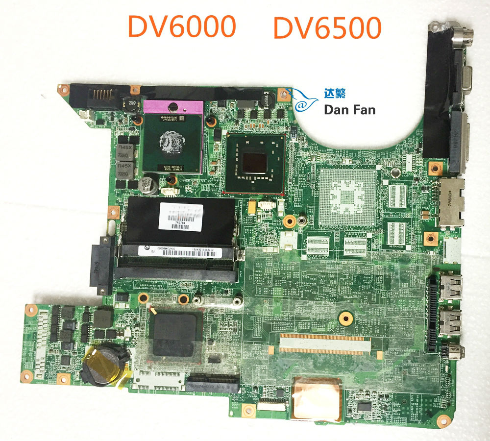 446477-001 BiNFUL For HP Pavilion DV6000 DV6500 Laptop Motherboard DA0AT3MB8F0 Mainboard 100%tested fully work image