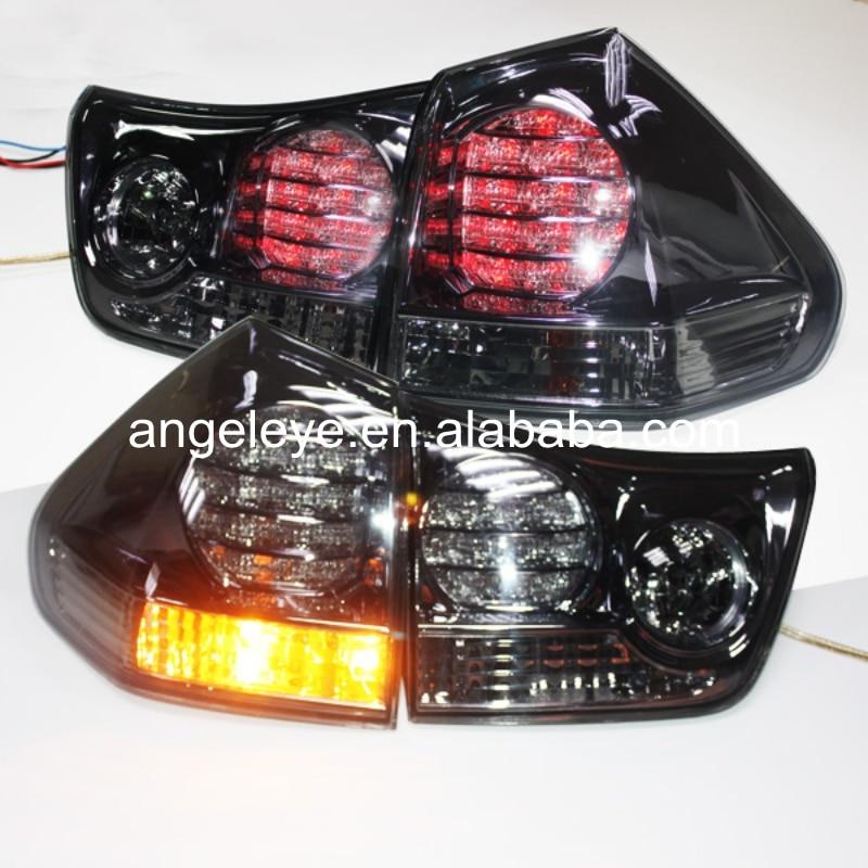For Lexus for RX330 RX350 LED Tail Light  2003-2008 year Smoke Black LF фаркоп lexus rx 300 4x4 rx 330 4x4 rx 350 4x4 toyota highlander 2003 2009