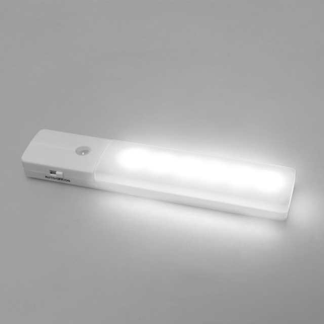 wireless closet lighting. usb rechargeable pir motion sensor led night light wireless wall hallway closet lamp auto lighting o