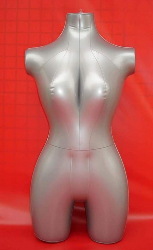 New Female 3/4 Body Inflatable Mannequin Torso Dummy Model Dress Fashion Display new female 3 4 body inflatable mannequin torso dummy model dress fashion display