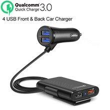 4 porty QC 3.0 szybkie USB akcesoria ładowarka samochodowa naklejki dla Suzuki gsr gsxr 600 750 1000 ltz 400 grand vitara sv 650 sport