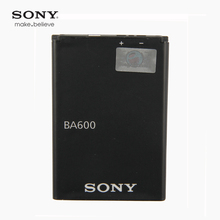Original Sony High Capacity Phone Battery for Xperia U ST25i st25a BA600 BA-600 1290mAh