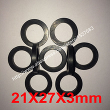 21X27X3mm NBR rubber flat gasket o ring seal washer