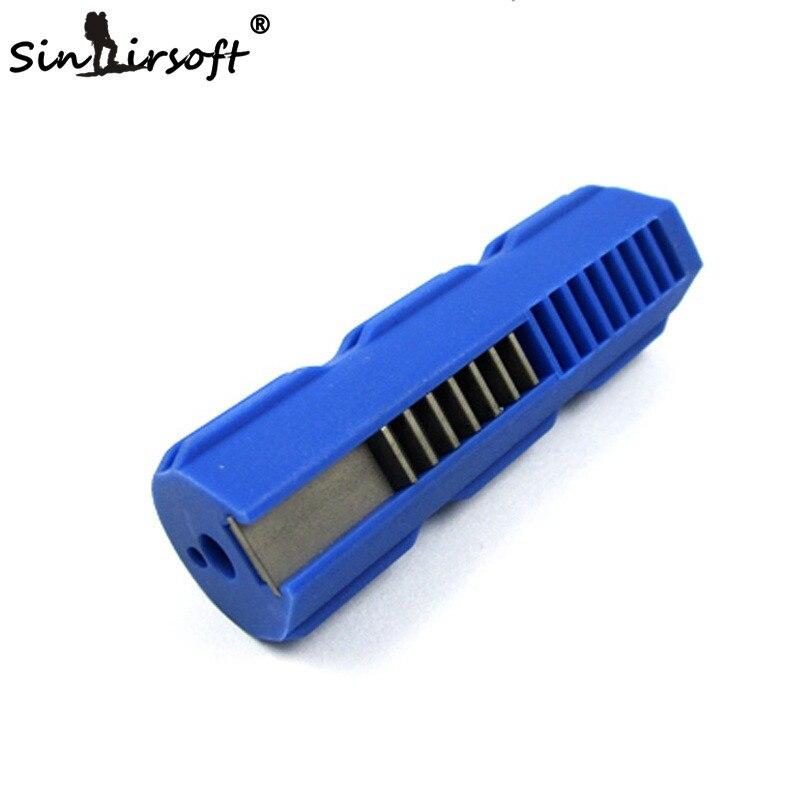 SHS Reforzado Con Fibra De Plástico + Acero Al Carbono Durable 7 dientes de pist