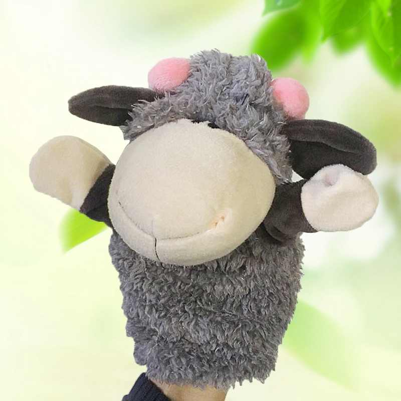 Fashion Cute Cartoon Animal Doll Kids Glove Hand Puppet Soft Cotton Story Telling Puppets Toys