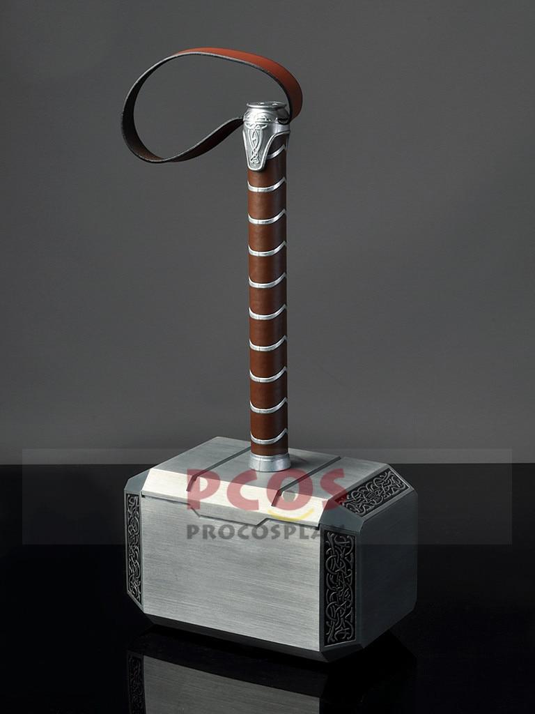 Thor: Ragnarok Thor et les Avengers Cosplay marteau de Thor Mjolnir Prop mp003874