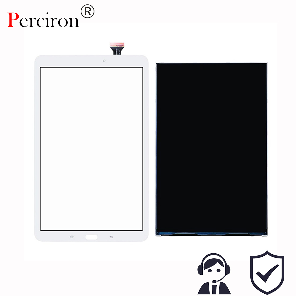 Perciron T560 LCD Touch Panel For Samsung Galaxy Tab E SM-T560 T560 T561 LCD Display With Touch Screen Panel Digitizer Assembly srjtek 9 6 for samsung galaxy tab e 9 6 sm t560 t560 t561 lcd display touch screen digitizer matrix tablet pc assembly parts