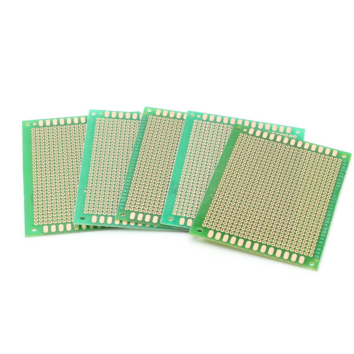 Universal 12pcs Lot Electric Printed Circuit Prototype Pcb Board Artwork Stripboard And Breadboard Layout 5pcs 7x9cm 70x90mm Diy Soldering Copper Fr4 Double Sided