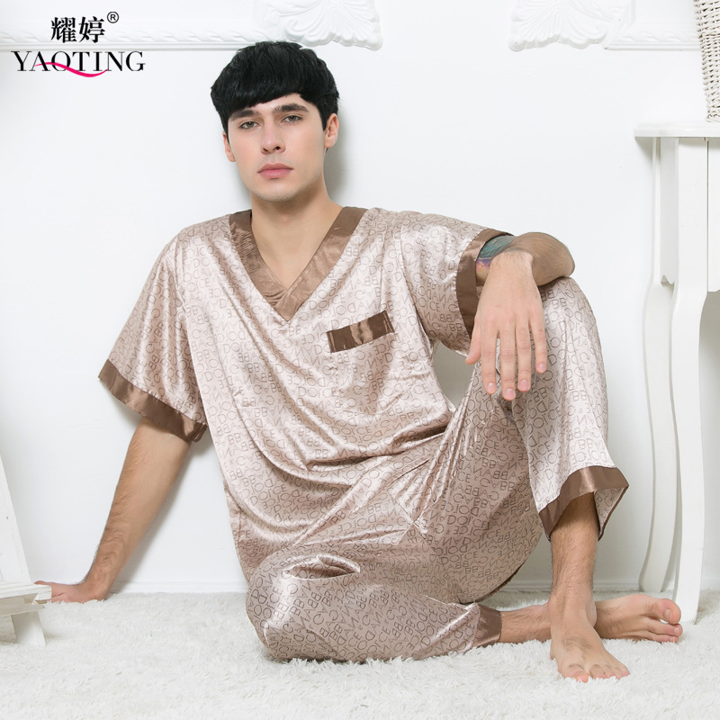 There are kinds of womens pajamas, such as nightgown in one piece pajamas, silk pajamas, etc. Sexy pyjama sets can be shown with satin sleepwear and lace see-through sleepwear, cute pajamas can be worn with ruffles sleeve sleepwear sets and satin pajamas set.