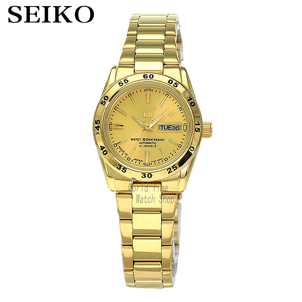 [ pre sale november 11 delivery ] seiko watch seiko 5 automatic sports st aviator 24 jewels men s watch made in japan srp349j1 SEIKO watch 5 Sportura automatic mechanical ladies watch SYMG44K1