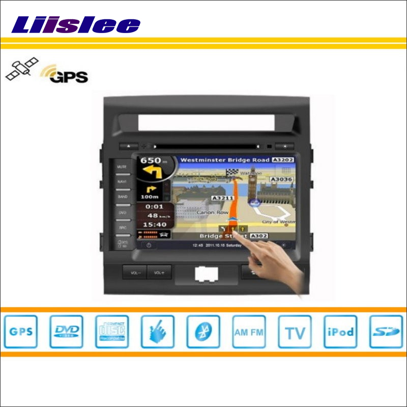 Liislee For Toyota Roraima 2008~2013 Car GPS Nav Navigation System Radio TV DVD iPod BT USB AUX HD Screen S160 Multimedia System