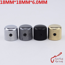 1 Piece GuitarFamily  Dome Metal Knob For Electric Guitar Bass  18MM*18MM*6.0MM  ( #0494 ) MADE IN KOREA