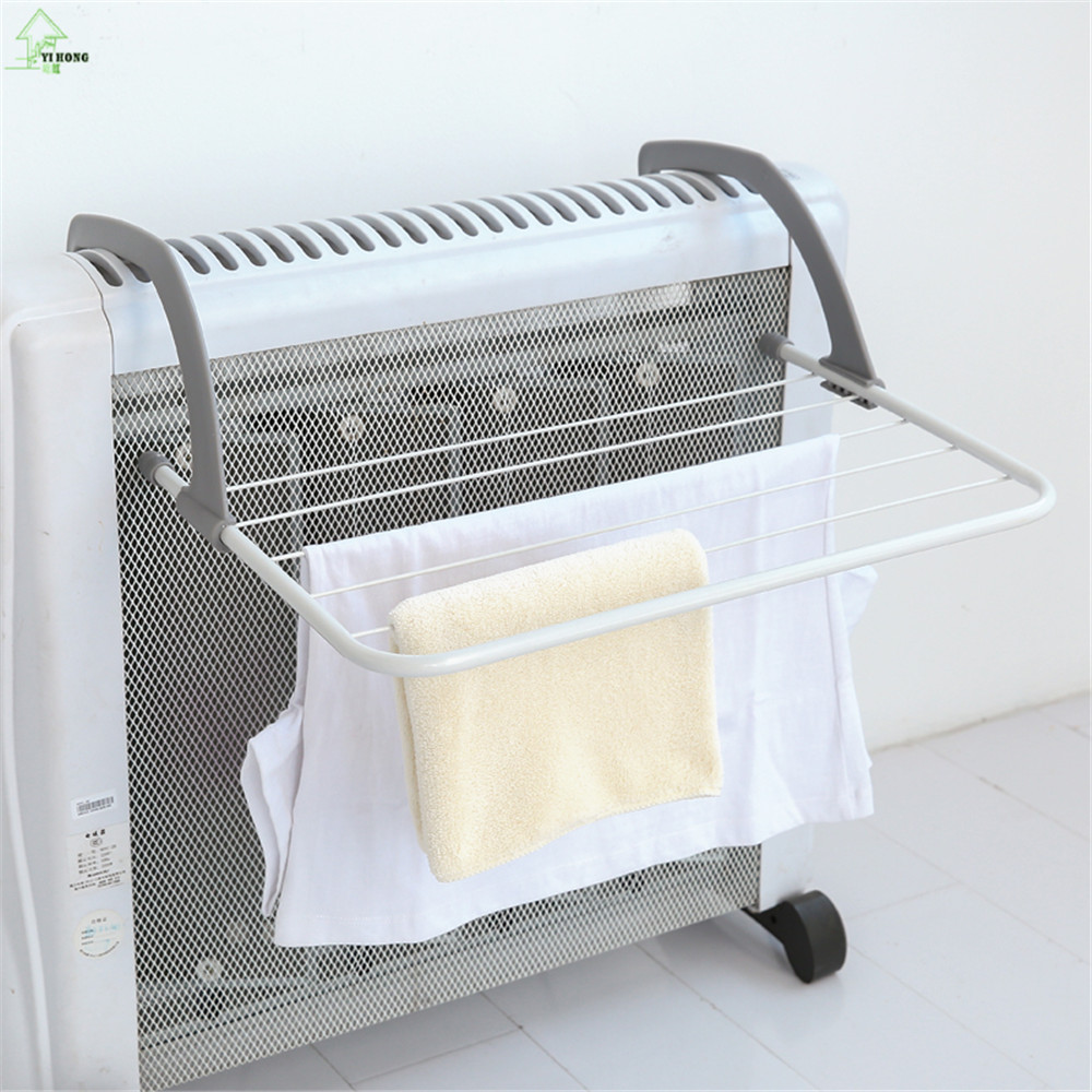 Small Towel Dryer: YIHONG Outdoor Folding Rack For Clothes Towel Dryer Rack