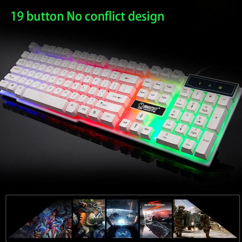 104 Key Waterproof Rainbow Backlit Slim LED Backlight Gaming Keyboard 104 Key Waterproof Rainbow Backlit Slim LED Backlight Gaming Keyboard HTB1WqjGSFXXXXXMXVXXq6xXFXXXi