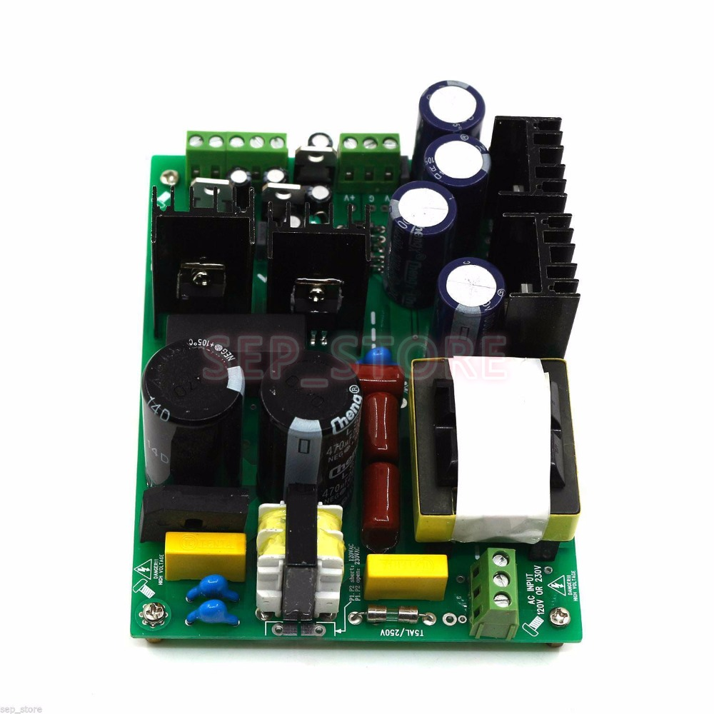 500W //-45V amplifier dual-voltage PSU audio amp switching power supply board