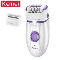 Kemei KM 2668 Lady Body Facial Epilator Women Electric Shaver Hair Trimmer Shaving & Hair Removal Female Depilatory Defeatherer