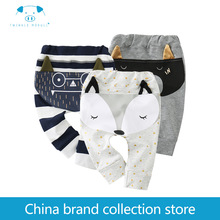 Mother Kids - Baby Clothing - [Playful100] Newborn Baby Baby  Long Pants  Spring And Autumn Lovely Boys Girls MD160Q012