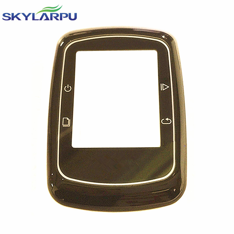skylarpu front housing for GARMIN EDGE 200 bicycle speed meter front shell protective glass Repair replacement
