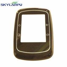 Skylarpu carcasa frontal para GARMIN EDGE 200 metros velocidad de la bicicleta carcasa frontal, vidrio de protección, reparación Del reemplazo Del Envío libre