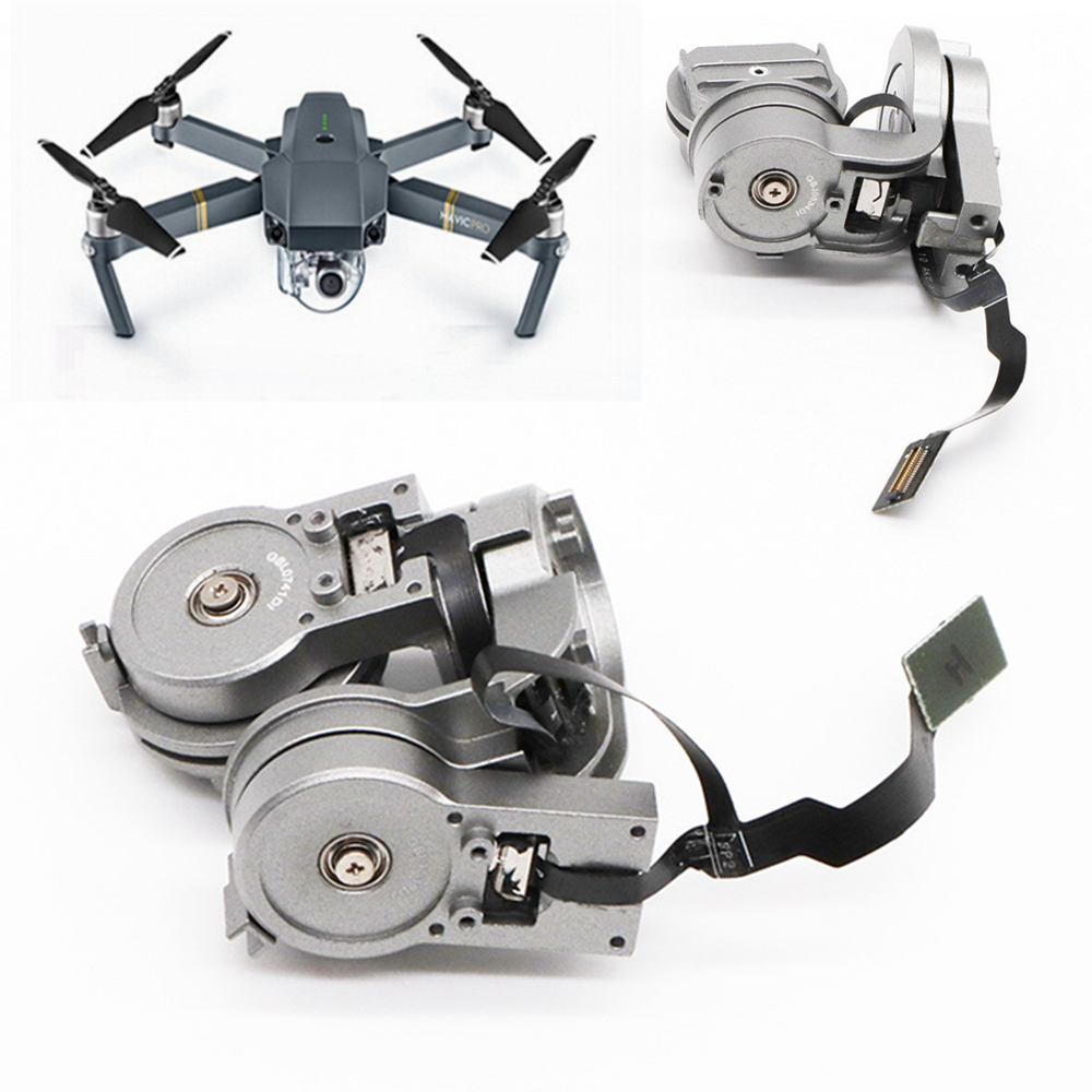 Original Repair Part DJI Mavic Pro Camera Lens Gimbal Arm Motor with Flex Cable for DJI Mavic Pro RC Drone FPV HD 4K Cam Gimbal