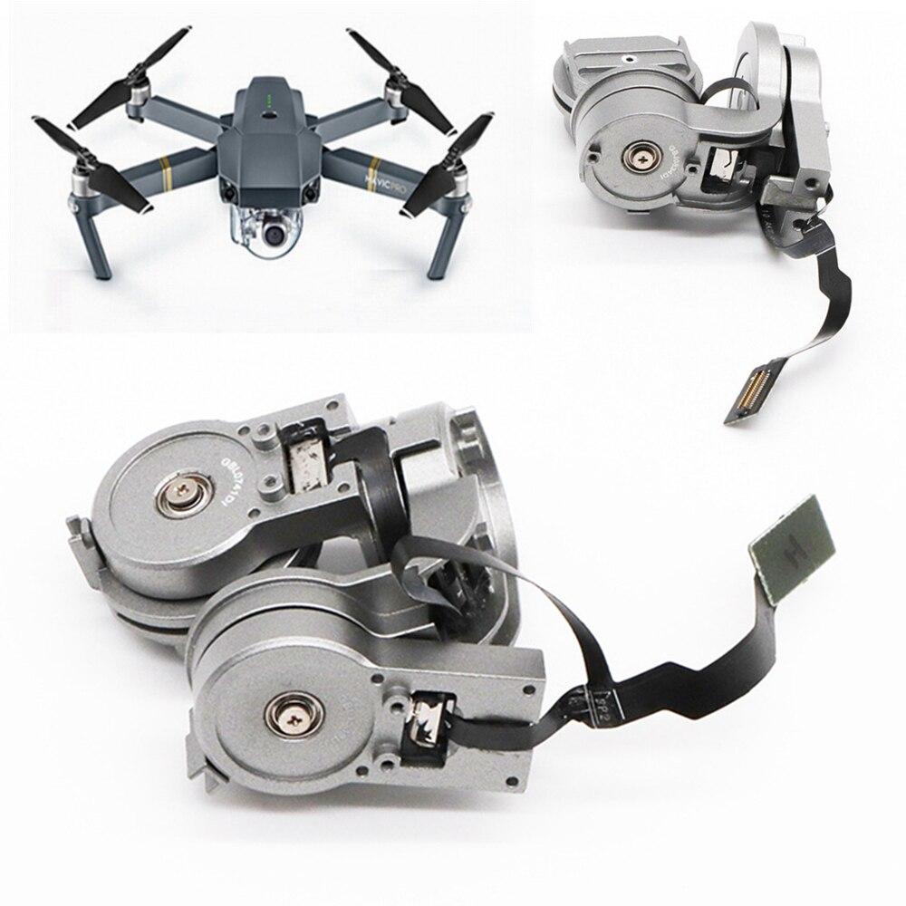 Pièce de réparation d'origine DJI Mavic Pro caméra objectif cardan bras moteur avec câble flexible pour DJI Mavic Pro RC Drone FPV HD 4K Cam cardan