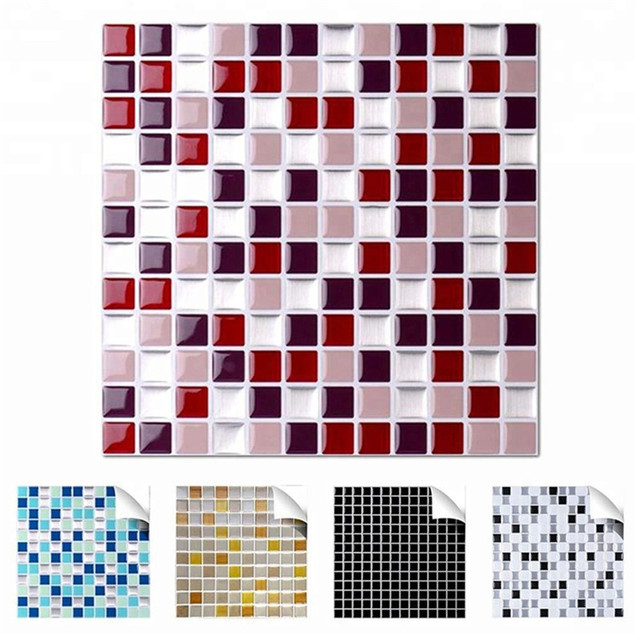 Self Adhesive Mosaic Tile Wall Decal Sticker 2