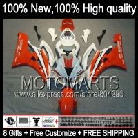 Bodys Red WhiteBody For YAMAHA YZFR6 06 07 YZF 600 YZF R 6 06 07 JK9622