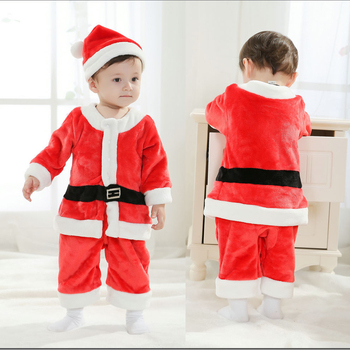 2019 Christmas Baby Rompers Santa Claus Clothing Newborn body suits X'mas babywears Baby Overall Baby Clothes MBC0596 1