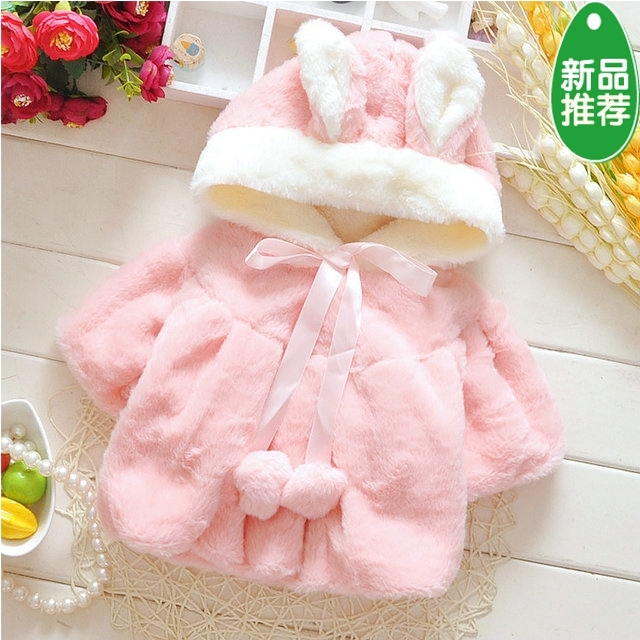 2016 New Brand Baby's Outerwear Children's Winter Coat girls  female Girls Jacket Little Girl Sweet Clothes For 0-18 Month