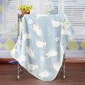 Felpa manta de bebé recién nacido swaddle abrigo del bebé Super Suave siesta manta de recepción animales manta cobertor bebe bebe