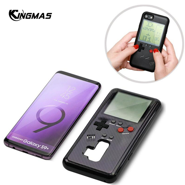 Retro Gameboy Tetris Phone Case For Samsung Galaxy S8 S9  1