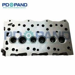 Z odlewu żeliwnego części do silników Diesla i same 3LD1 głowica cylindra do ISUZU