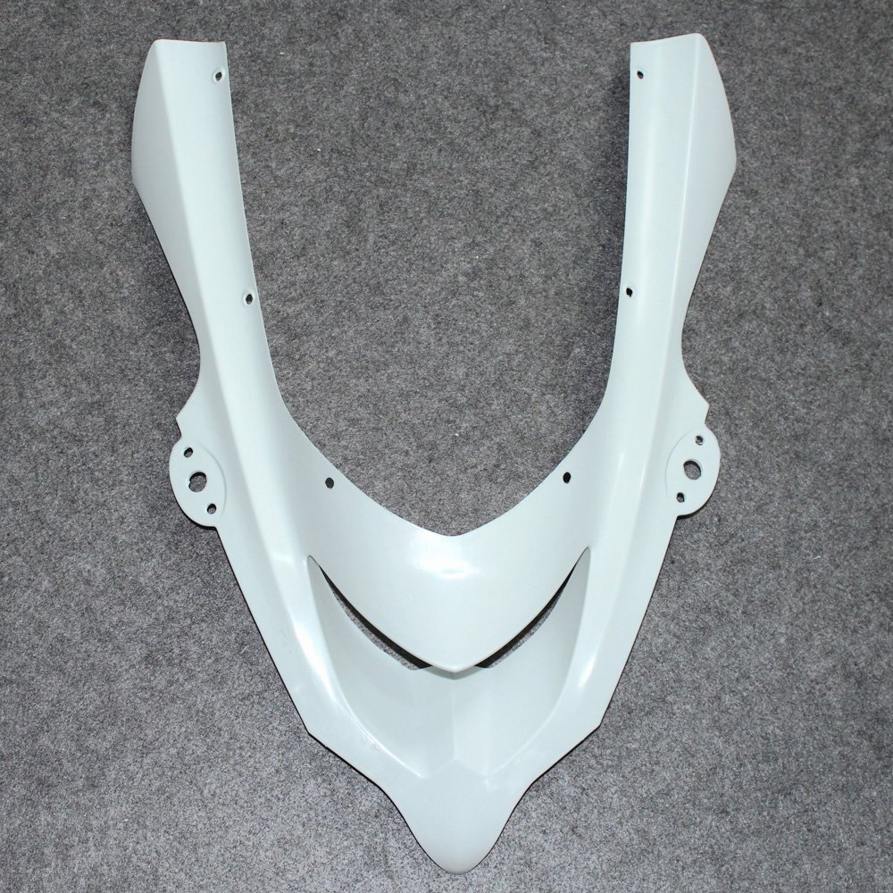Motorcycle Unpainted Front Upper Nose Fairing For Kawasaki Ninja ZX-10R ZX10R 2004 - 2005 ZX 10R 04 05 Individual Fairings Cowl