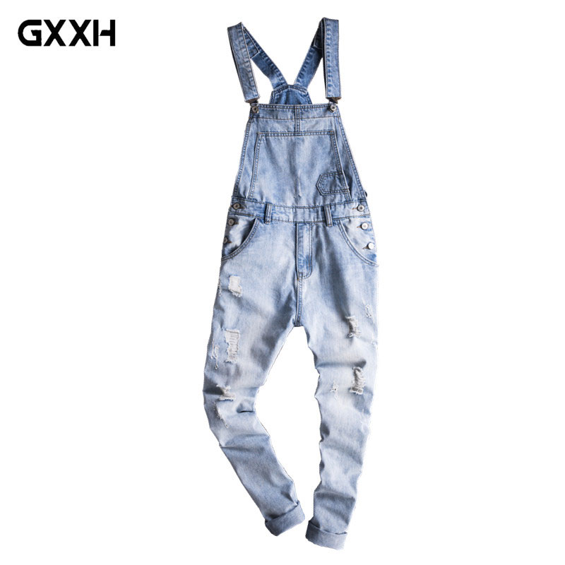 US Size Black Hole Denim Jackets Men Jeans Coat Hip Hop Jacket Streetwear 2019 Spring Autumn