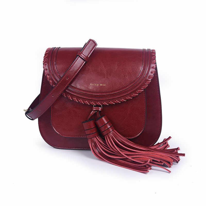 eb9ccdfefeff Ограниченное количество Мода 2019 г. китайский бренд для женщин леди пояса  из натуральной кожи кисточкой
