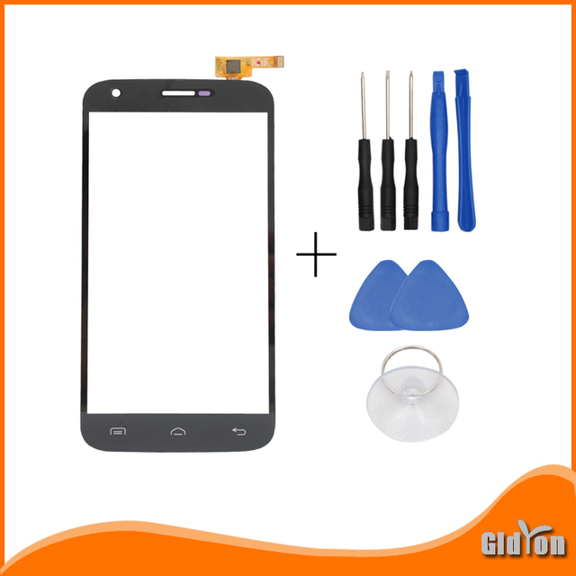 Original for  Doogee Valencia 2 Y100 Pro Touch Screen Digiziter Replacement Touch Panel for DOOGEE Y100 Pro Black+Tools