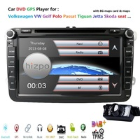 Capacitive Touch Screen Fit Car Video Player for VW Passat Jetta Polo Bora Car DVD GPS Stereo Golf Car Multimedia RDS SWC RDS BT