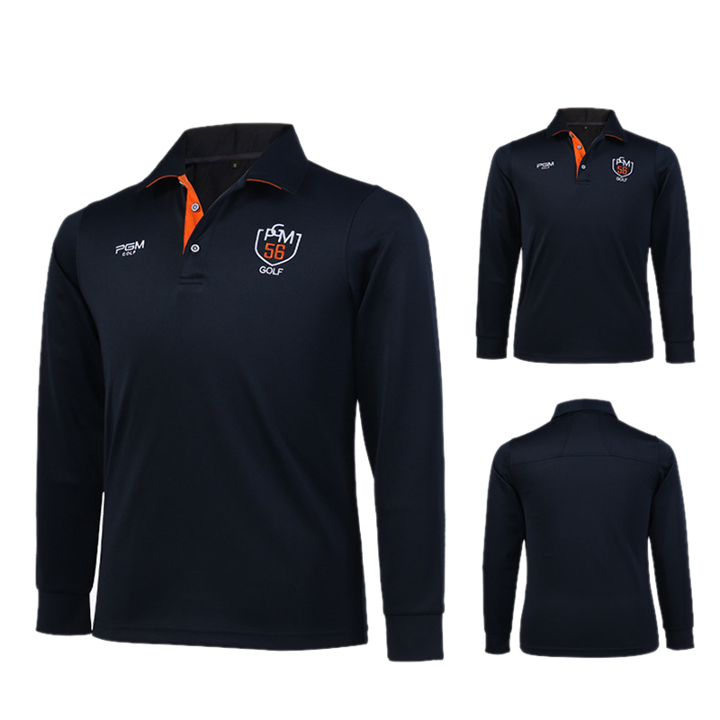 c7ba00894 PGM Brand Mens Outdoor Fit Polomens Golf Polo Shirts Quick Dry Long Sleeve  Golf T shirts Clothing Table Tennis Shirt-in Golf Shirts from Sports ...