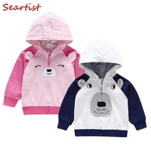 Seartist Kids Hoodies Girl Boy Hooded Sweatshirt Baby Boys Girls Outfit Coat Bebes Clothes 25
