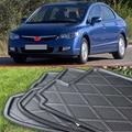 Para Honda Civic 2006-2011 Goma Espuma Trunk Bandeja Liner Cargo Mat Protector Del Piso