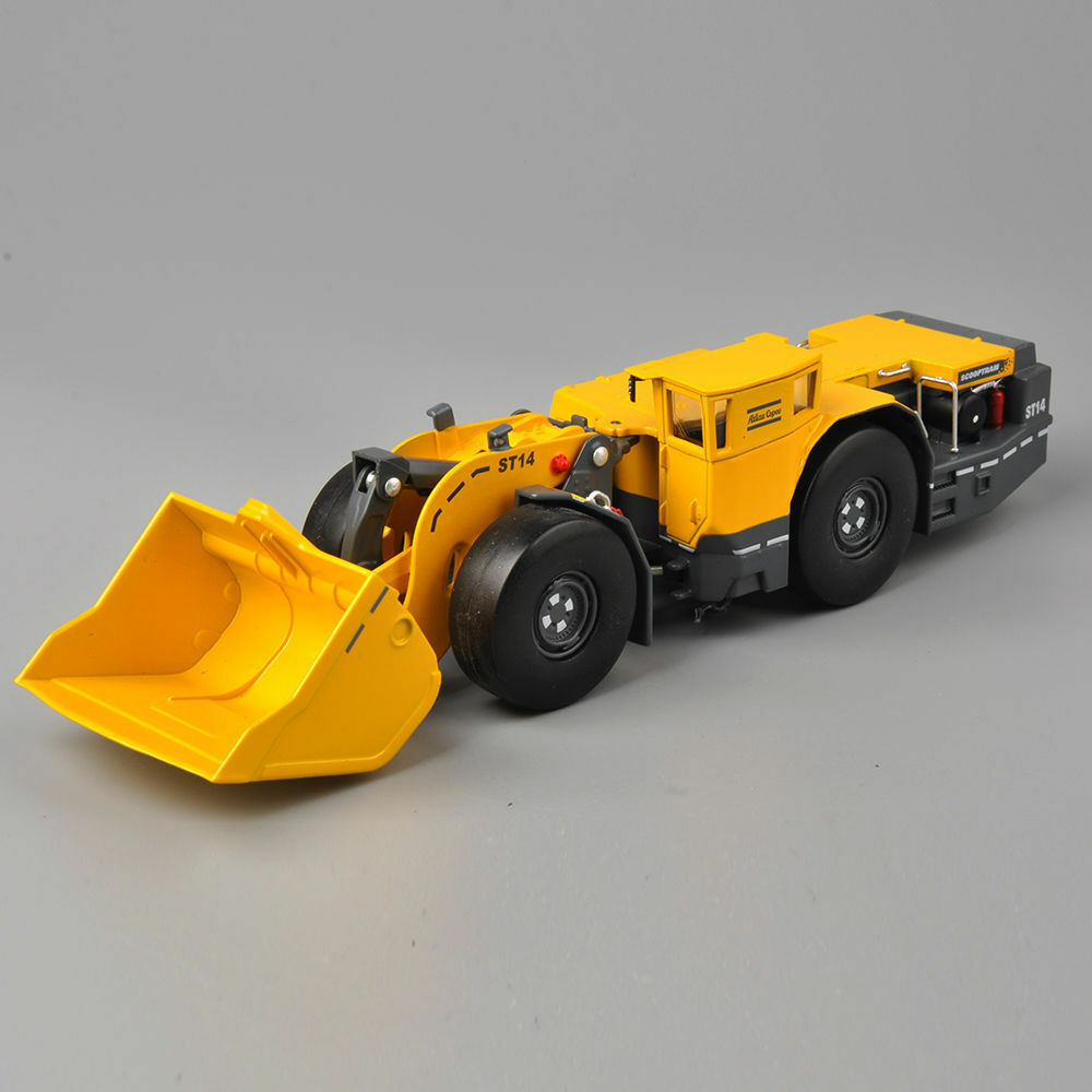 underground loader diecast loja caminhão pushdozer modelo