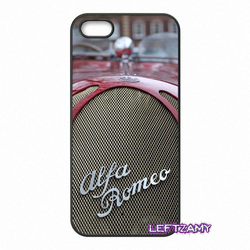 Car Alfa Romeo Original Hard Phone Case Cover For iPhone 4 4S 5 5C SE 6 6S 7 8 Plus X 4.7 5.5 iPod Touch 4 5 6