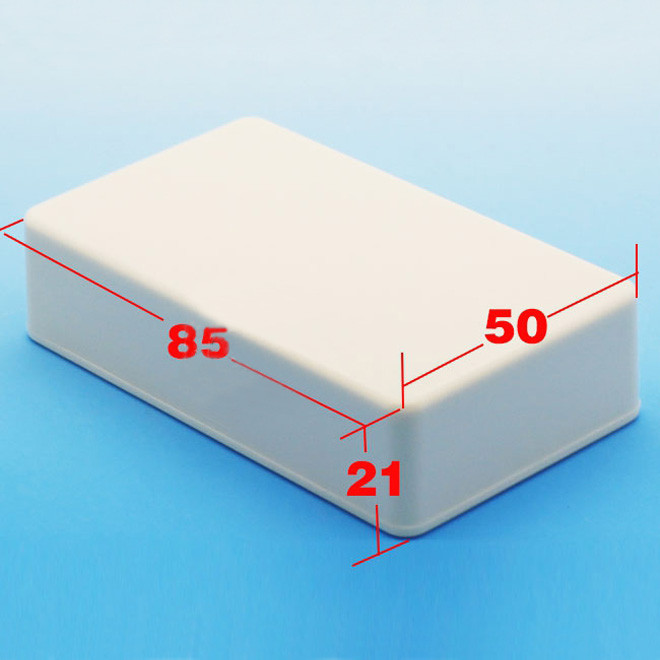sourcing map Surface en Plastique 2 DIY Boite de d/érivation /électrique 70 x 45 x 20 mm