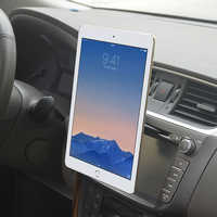 Tablet Auto Halterung CD Slot Halter Handy/Tabletten/GPS Magnetische Stand Auto 360 Rotation Halterung für iPhone iPad Pro Air 2 miPad
