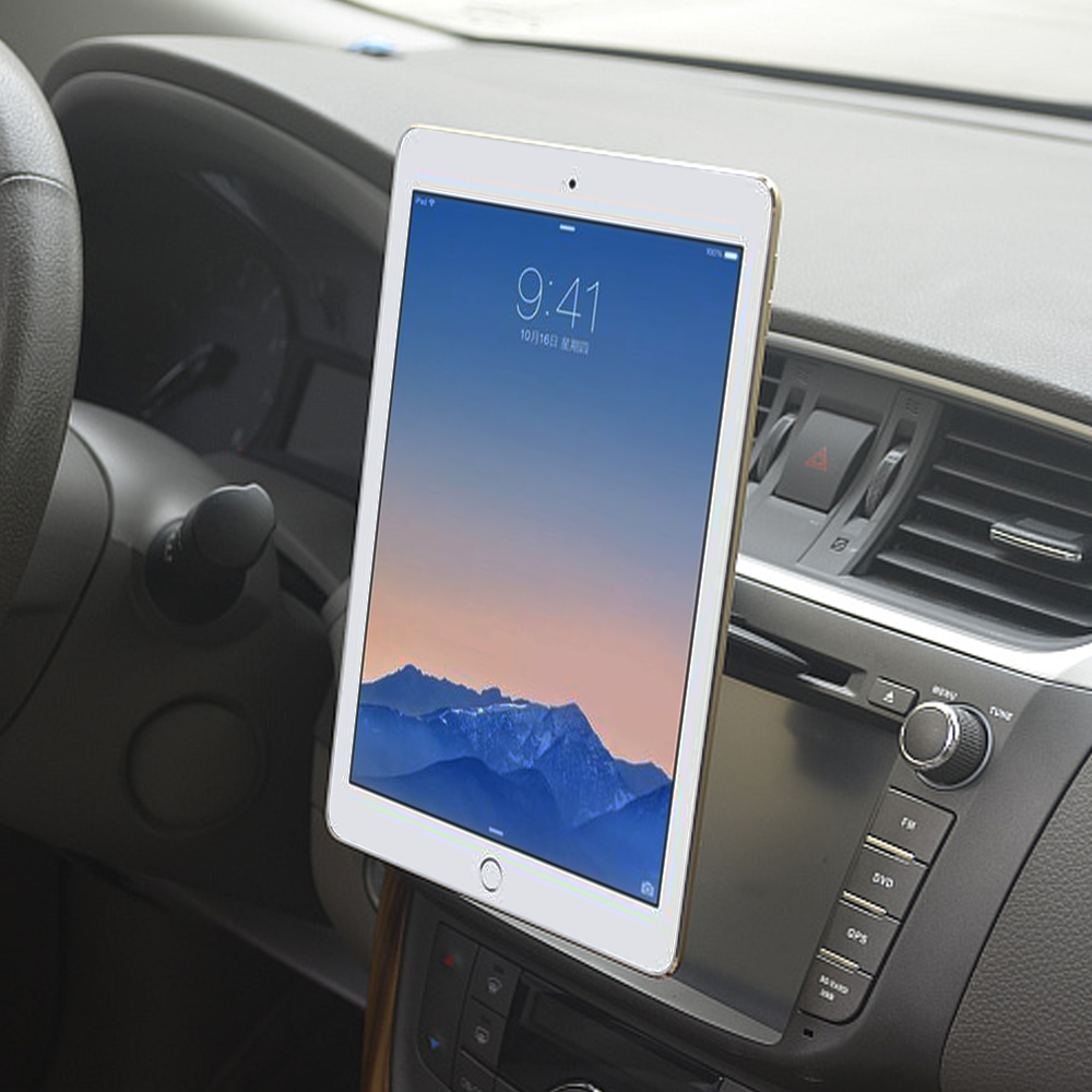 Tablet Car Mount CD Slot Holder Mobile Phone/Tablets/GPS Magnetic Stand Car 360 Rotation Bracket For IPhone IPad Pro Air 2 MiPad