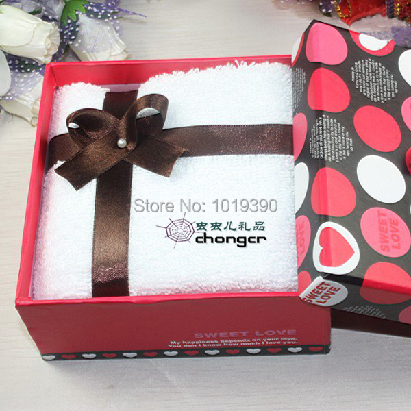 Specials For Her Mother S Birthday Cake Towel Gift Box 20 Yuan Welfare Staff Wholesale Company