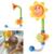 Lindo Bebé de Juguete de Baño de Girasol Precioso Mostrando Diversión Kids Baño Grifo de la Ducha Grifo de la Ducha Boquilla de Rociador Pulverizador Filtro