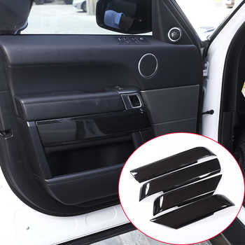 4pcs Carbon Fiber Style ABS Plastic Inner Door Decoration Cover Trim For Landrover Range Rover Sport RR Sport 2014-2017 NEW!! - DISCOUNT ITEM  25% OFF All Category